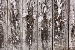 Weathered gray and brown board wall Royalty Free Stock Photos