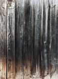 Weathered gray wooden plank Stock Photography