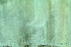 Weathered green copper background Royalty Free Stock Image