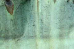 Weathered green copper background Stock Images