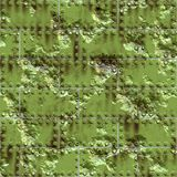 Weathered green metal surface Stock Images