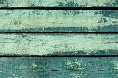 Weathered green painted wood texture Royalty Free Stock Photography