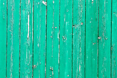 Weathered green wood Stock Image