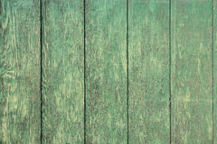 Weathered Green Wood Plank Background Royalty Free Stock Images