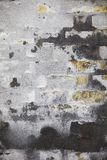 Weathered grey wal Royalty Free Stock Photography