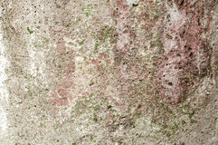 Weathered grunge concrete surface Stock Image