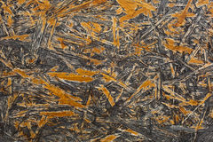 Weathered grunge oriented strand osb board Stock Images