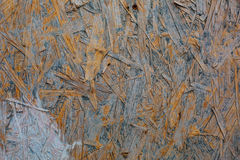 Weathered grunge oriented strand osb board Royalty Free Stock Image