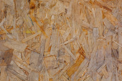 Weathered grunge oriented strand osb board Royalty Free Stock Photos