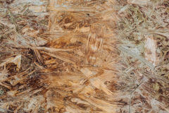 weathered grunge oriented strand osb board Royalty Free Stock Images