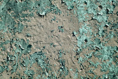 Weathered grungy cement wall surface. Royalty Free Stock Photos