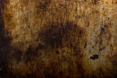 Weathered grungy industrial metal texture.  Royalty Free Stock Image