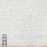 Weathered huge brick wall background Stock Images
