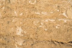 Limestone rock face geology wallpaper background. Weathered limestone rock face geology wallpaper background, showing sedimentary geologiccal strata Royalty Free Stock Photos