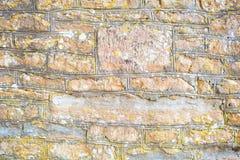 Weathered limestone wall Stock Photo