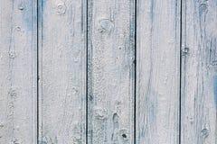 Weathered målade wood bräden Royaltyfri Bild