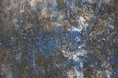Weathered metal plate texture Royalty Free Stock Image