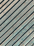 Weathered navy blue wooden texture. Stock Images