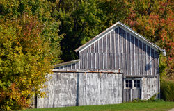 Weathered old barn Royalty Free Stock Image