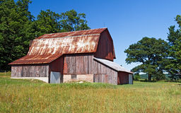 Weathered Old Barn Royalty Free Stock Photography