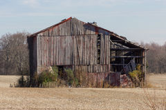 Weathered Old Barn Royalty Free Stock Photo