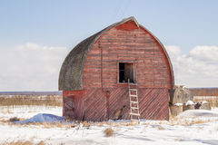 Weathered old barn Royalty Free Stock Photos