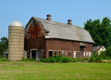 A Weathered Old Barn Stock Images