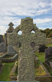 Weathered and old Celtic Cross Stock Photo