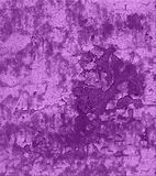 Weathered Old Paint Peeling. Weathered Rag Rolled Purple design, Old Paint Peeling background Stock Photography