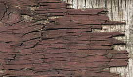 Weathered old wood background Stock Photography