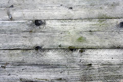 Weathered old wooden boards background. Stock Image