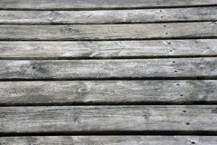 Weathered old wooden boards background. Stock Photo