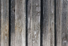 Weathered old wooden wall detail Stock Photos