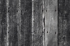 Weathered old wooden wall Stock Photography