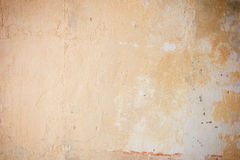 Weathered orange concrete wall with vignetting Royalty Free Stock Photography