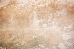 Weathered orange concrete wall with vignetting Stock Images
