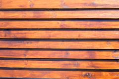 weathered orange fir planks on wall, texture for your architectural design Royalty Free Stock Photo