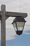 Weathered outdoor light fixture Royalty Free Stock Photography