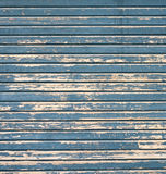 Weathered paint. Closeup of weathered wood with painnt for background Stock Photo
