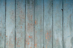 Weathered painted boards. Texture of painted wood, blue colors, weathered painted boards Stock Photos