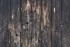 Weathered painted wood Royalty Free Stock Photography