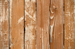 Weathered painted wooden lining boards Royalty Free Stock Photos