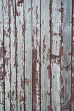 Weathered painted wooden plank Royalty Free Stock Images
