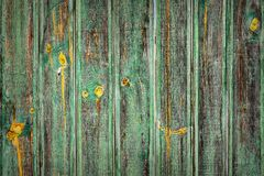 Weathered paited la superficie di legno fotografie stock libere da diritti