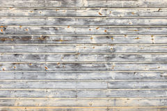 Weathered Pale Wood Boards. A closeup of weathered textured pale wood boards siding Stock Image