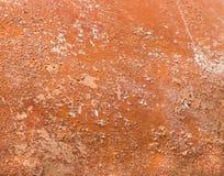 Weathered Peeling Terra Cotta royalty free stock image