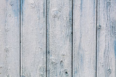 Weathered a peint les conseils en bois Image libre de droits