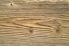 A weathered piece of pine Stock Images