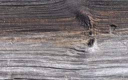 Weathered Pine Board on a Barn. Detail of the grain and pattern of an old Pine weatherboard on a New York barn Stock Images