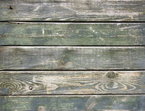 Weathered plank green Stock Image